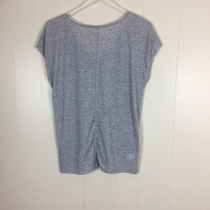 Ann Taylor Loft Tops - Ann Taylor Loft Short Sleeve Grey Women's Top